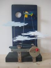 'Nightflight' automata by John Dunn